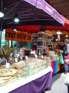 Cool Chile's stall at Borough