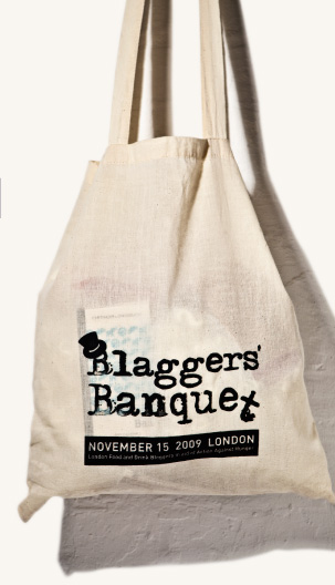 Blaggers Banquet Goody Bag