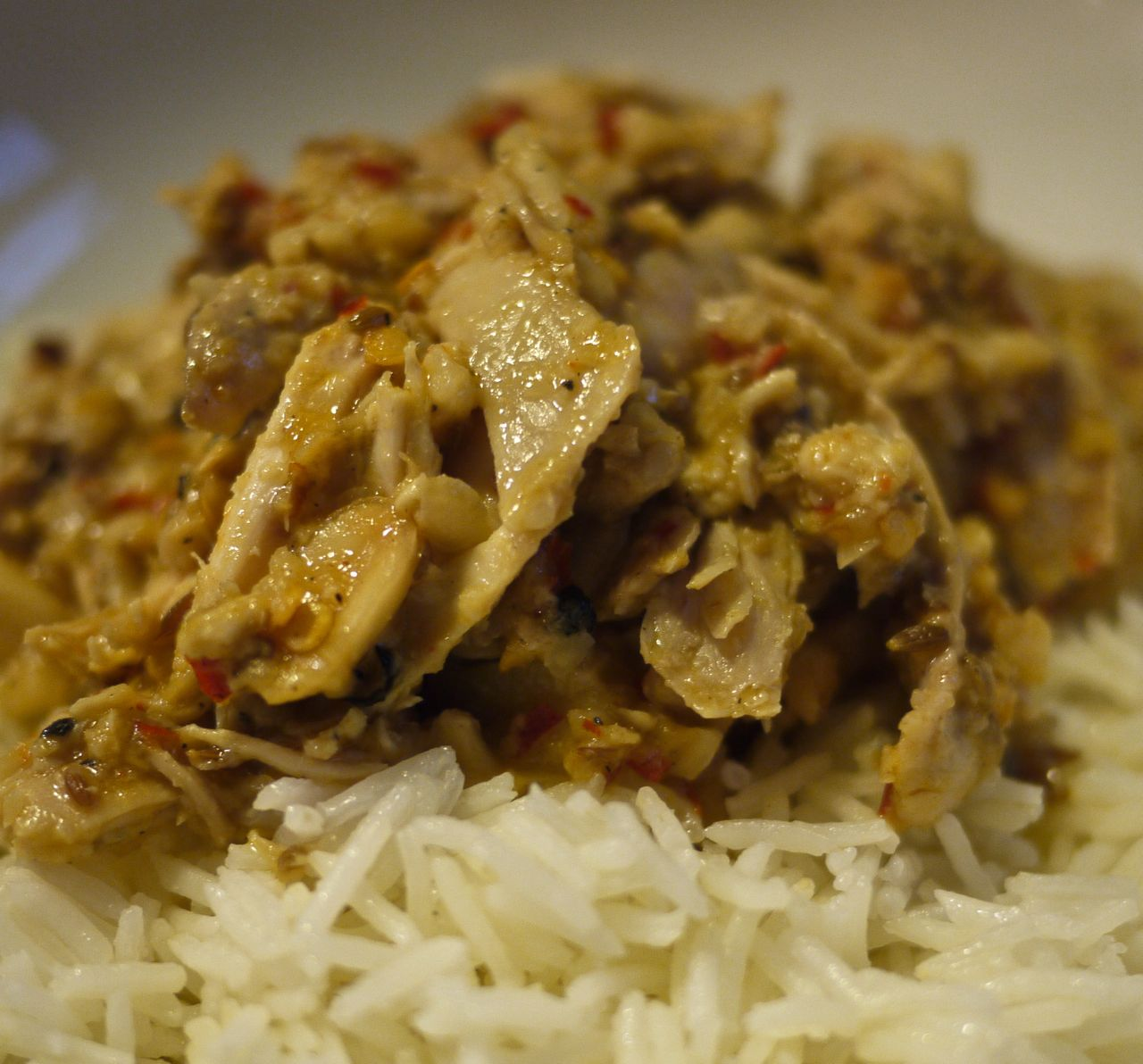 Panang Gai, dry chicken curry